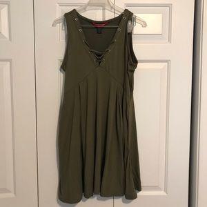 Soft Olive Green Dress